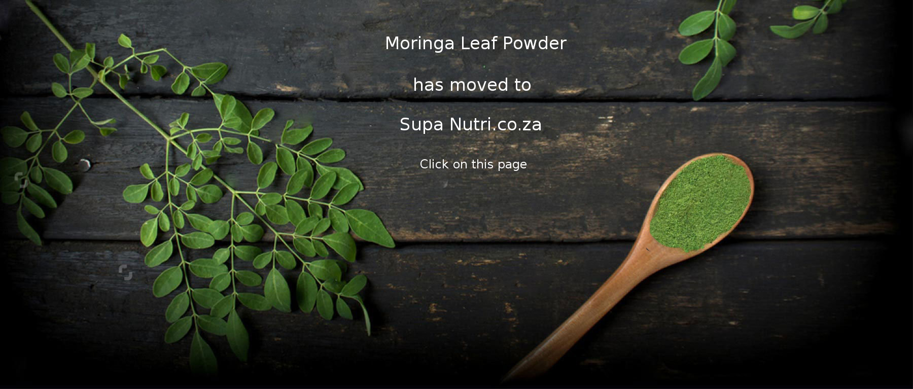 Moringa Leaf Powder Supa Nutri